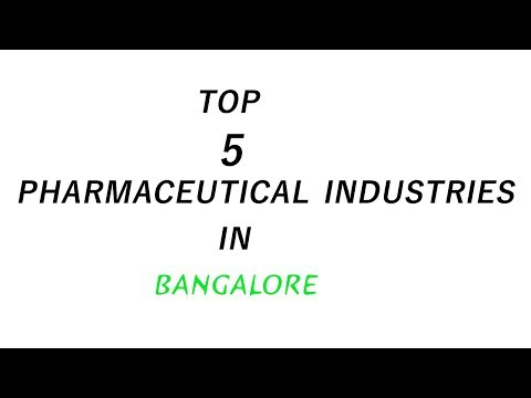 Top 5 Pharmaceutical Companies in Bangalore