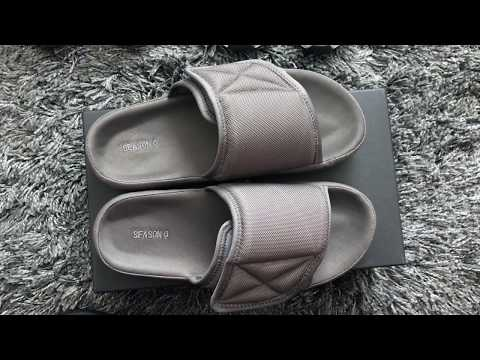 New Kanye Gear! Yeezy Season 6 Slides Unboxing & Review