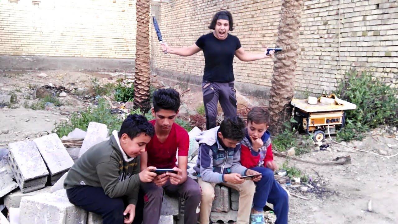 Photo of مصيبه صارت #ولد المنطقه لعبو بوبجي ويه اخواني الصغار وتركو الدراسه😂 – اللعاب الفيديو