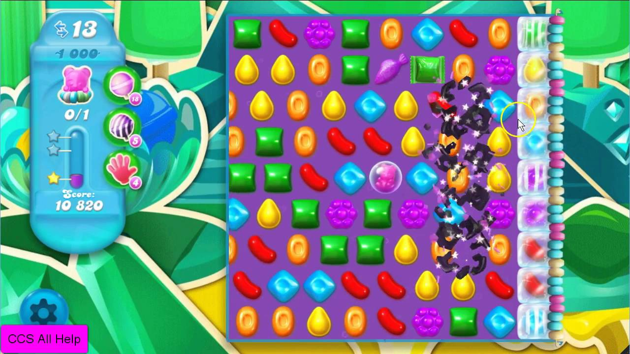 candy crush saga level 1000