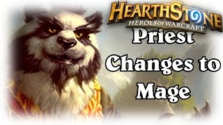 Lorewalker Cho makes a Priest be a Mage ~ Hearthstone Heroes of Warcraft Blackrock Mountain
