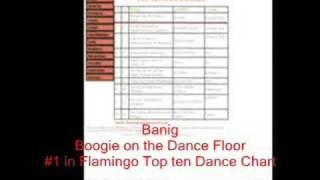 BANIG - Boogie On The Dance Floor #1 in FLAMINGO Dance Chart