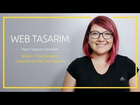 Web Tasarım ve Dijital Tasarımın Temelleri | Bölüm 1: Web Sitelerin Çalışması ve Web Site Tasarımı