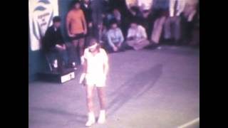 Final Connors-Borg-1978 Estadio Obras Sanitarias-Argentina-Super 8 sonoro