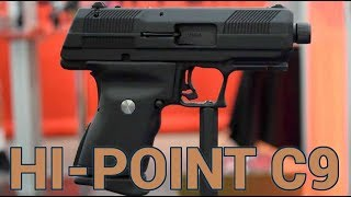 New HiPoint 9x19mm prototype - double stack mag (not Glock