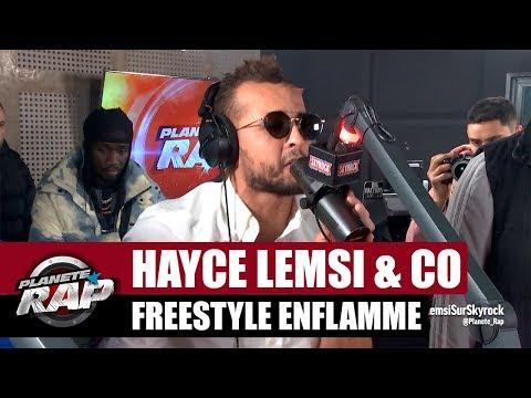 Hayce Lemsi - Freestyle enflammé x Brvmsoo x Volts Face x Mi kado & Tisme des seychelles #PlanèteRap