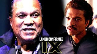 Star Wars Episode 9 Lando Confirmed! Return Of Lando Calrissian (Star Wars News)