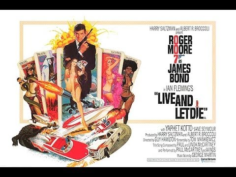 007 - Live and Let Die (1973) Movie Review