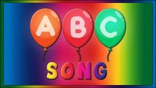 ABC Alphabet Balloons Song | ABC Baby Songs - ABC