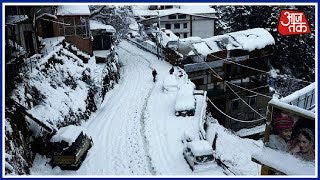 Heavy Snowfall Leaves Many Tourists Stranded In Himachals Kulu; 5 Rescued