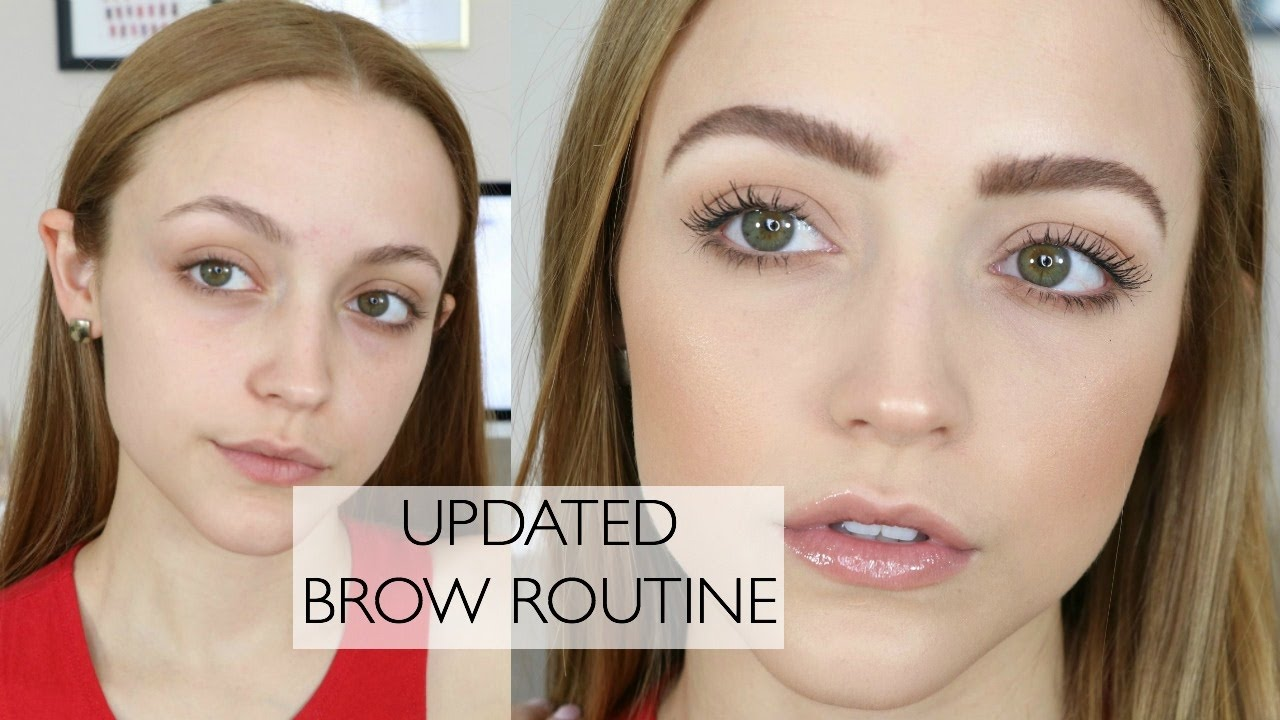 2de78403 How To: FEATHERY BROWS | My Brow Routine & My Favorite Products