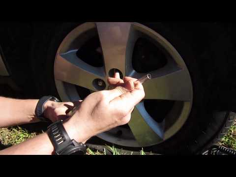 how-to-fix-a-flat-tire-for-2-years!!-with-green-slime.-made-a-huge-mistake-click-it!-click-it!
