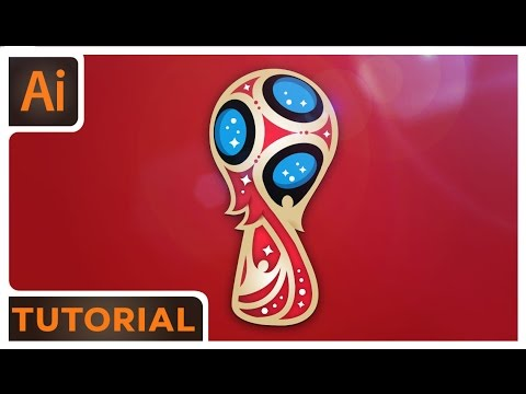 World Cup Logo Tutorial - Adobe Illustrator