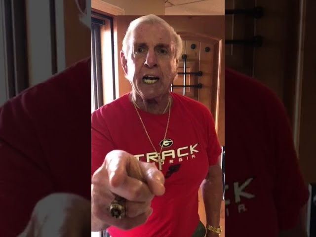 Ric Flair's Message to The Dawgs