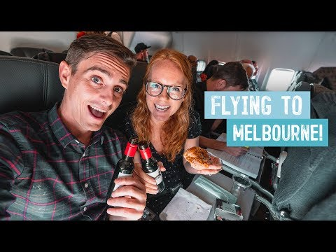 Flying QANTAS To MELBOURNE! - One Of The BEST Airlines?? (Flight From Cairns, Australia)