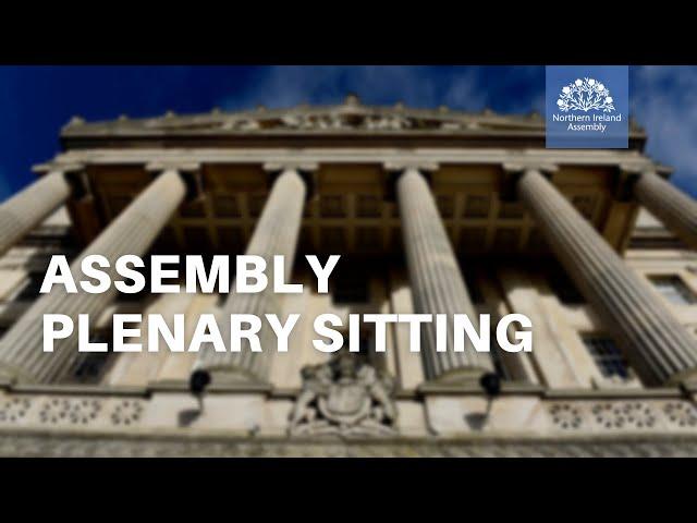 Assembly Plenary - 13 September 2021