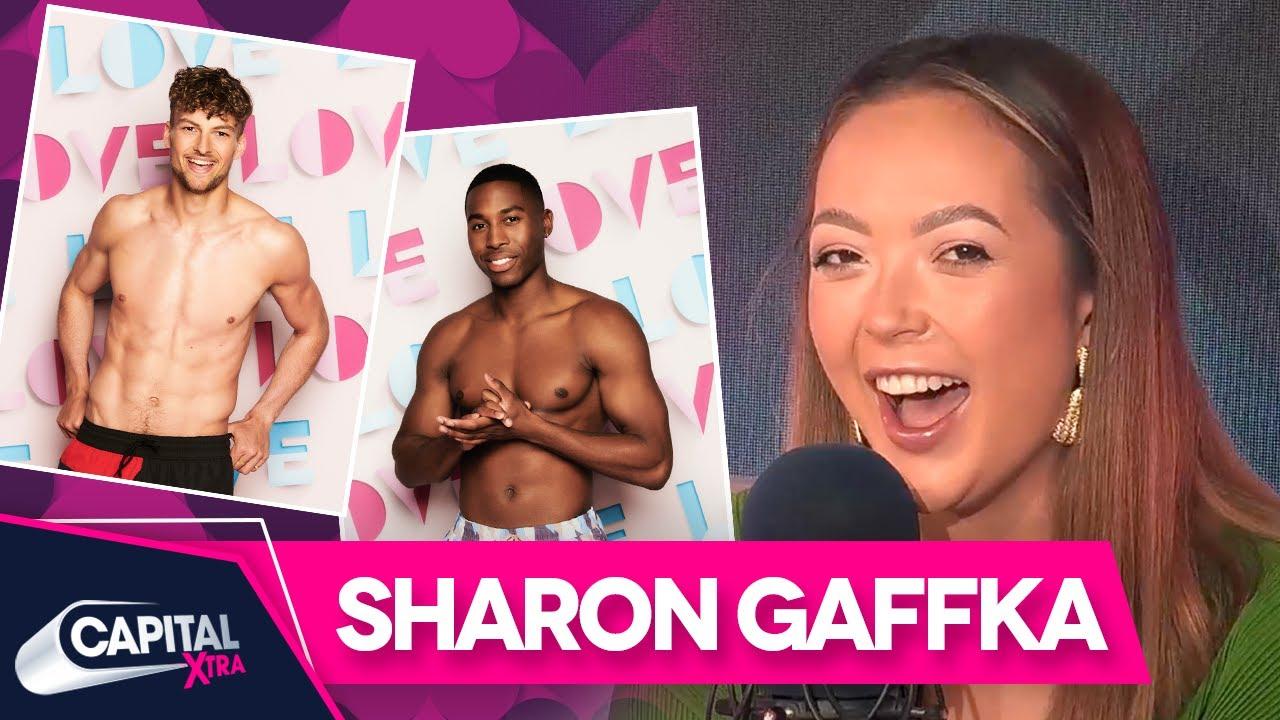 Love Island's Sharon Gaffka Gives The Lowdown On Hugo & Aaron | Capital XTRA