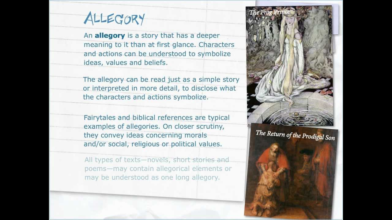 allegory short story ideas