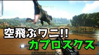 ARK実況プレイ 【サバイバル9日目 カプロスクス・テイム編】