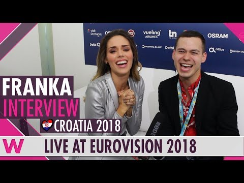 Franka (Croatia) Interview @ Eurovision 2018 | wiwibloggs
