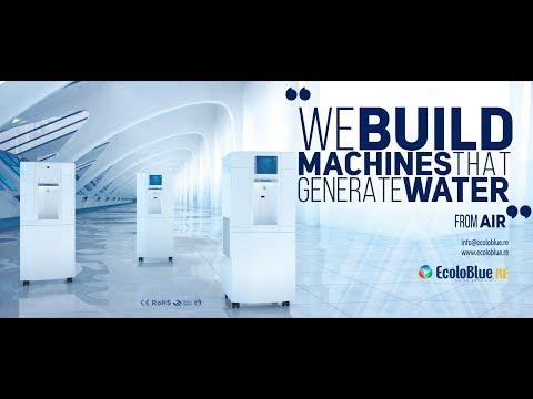 EcoloBlue Shangai Factory (Générateur d'Eau Atmosphérique // Atmospheric Water Generator)