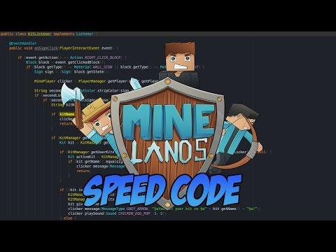 ► SPEEDCODE   Minelands Network PVP!
