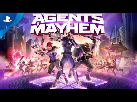 Agents of Mayhem - Bad vs Evil Trailer | PS4