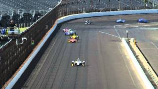 Pippa Mann Incident At Indianapolis Motor Speedway May 13