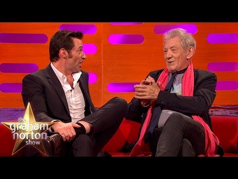 Hugh Jackman Received Great Advice from Sir Ian McKellen - The Graham Norton Show