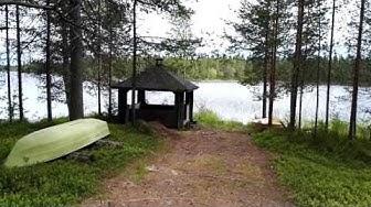 Ryysyrannan Joosepin jalanjäljillä. Pesiöjärvi Suomussalmi.