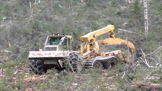 Skidder Tigercat 635D with ECO-Soft 26