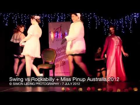 Swing Vs Rockabilly + Miss Pinup Australia - 7 July 2012