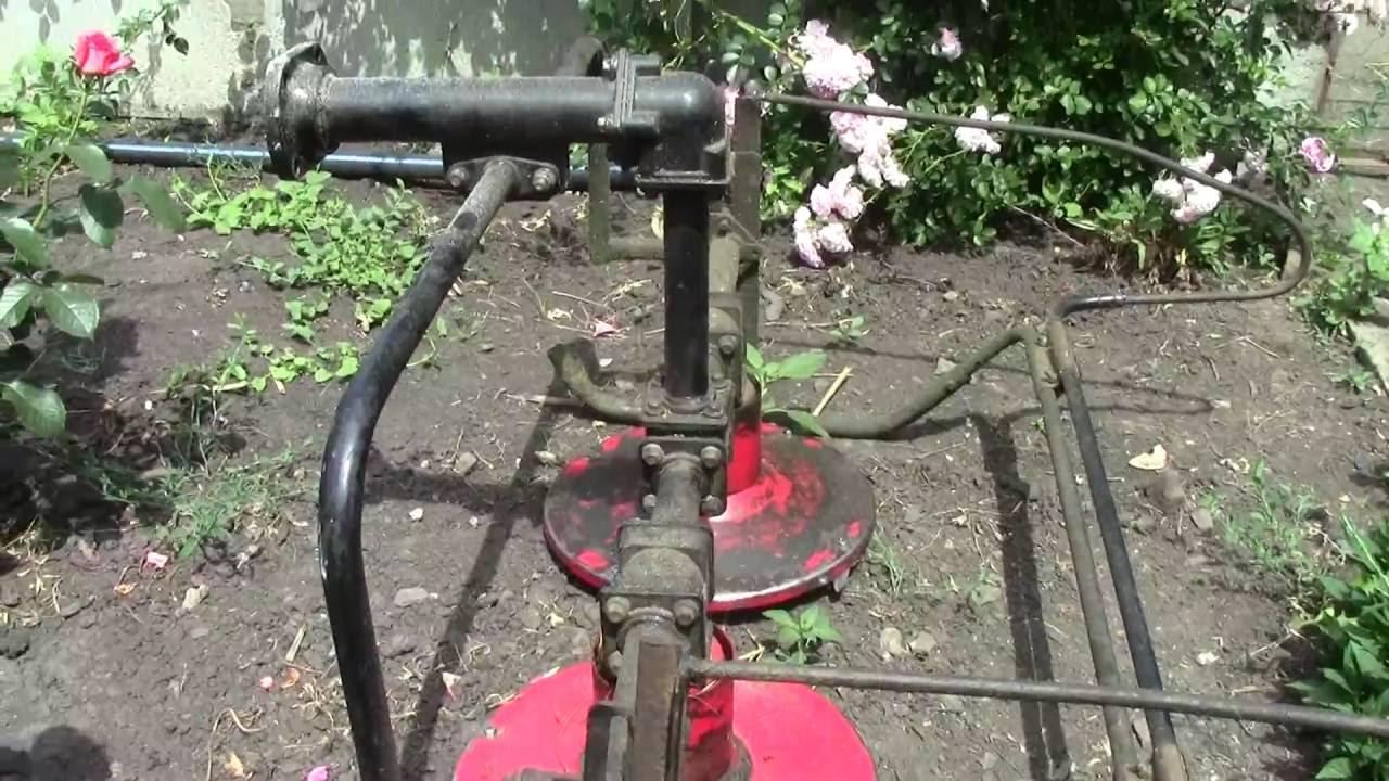 ремонт роторной косилки для мотоблока