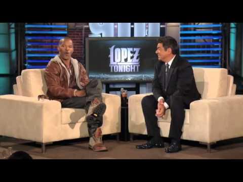 Jamie Foxx Talks Obama, Snoop on Lopez Tonight