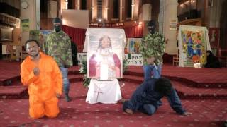 ARADA TV-1 Year Candles Memorial Service For The Ethiopian Martyrs Killed In Libya