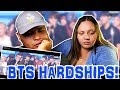 BTS HARDSHIPS THROUGHOUT THE YEARS | COUPLE'S REACT