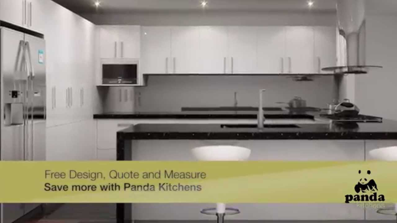 Free Design, Quote And Measure Services With Panda Kitchens   YouTube