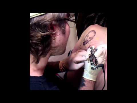 Robert Johnson TimeLapse Tattoo