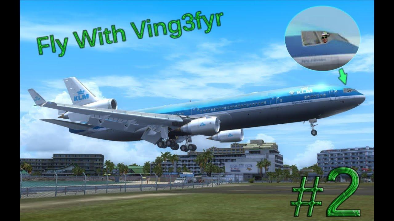 Flight Simulator X Kastrup Til Rønne Boeing 737 800 Pc Hd 1080p
