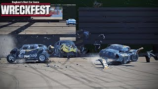Wreckfest - Episode 39 - Getting Wrecked (Multiplayer)