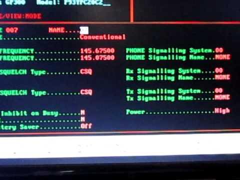 วิธีโปรแกรม MOTOROLA GP300 By HS4VLG