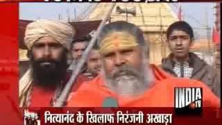 Nityanand made Mahamandleshwar,Akhara Parishad resents