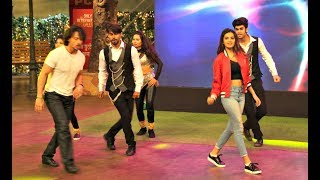 Tiger Shroff And Nidhhi Agerwal Dance In Kapil Sharma Show