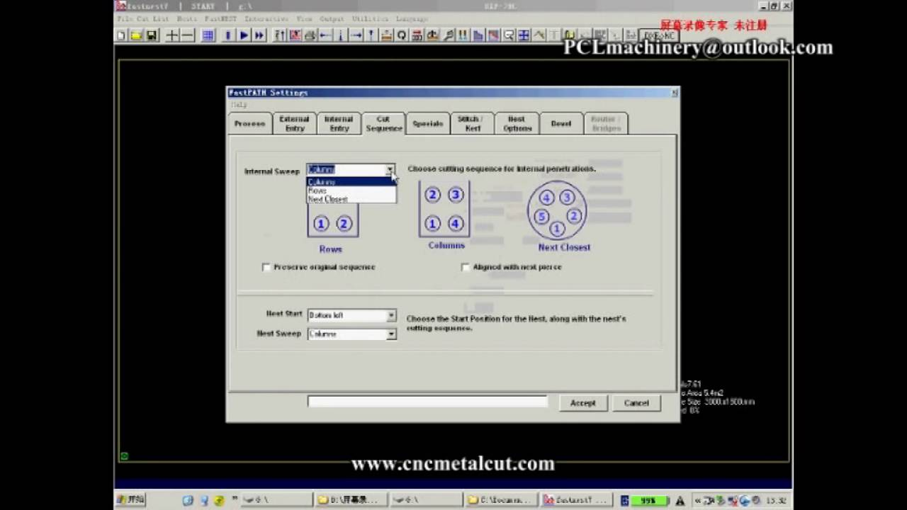 DXF transfer to G code by fastcam - - vimore org