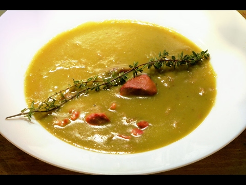 SPLIT PEA SOUP - Classic French Method /restaurant Recipe