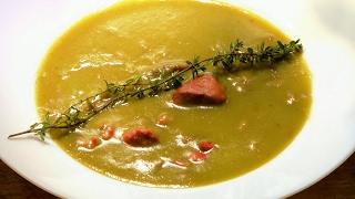 SPLIT PEA SOUP - Classic French Method /restaurant recipe