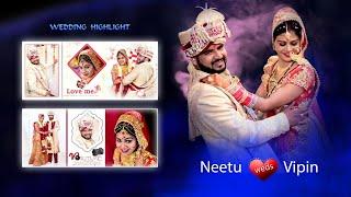 Wedding hilight (Neetu & Vipin) Nautiyal studio, Thatyur
