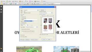 Adobe Acrobat 9 4. Bölüm Dosya İşlemleri ( Yazdırmak )