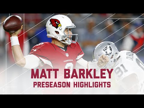 Matt Barkley Highlights | Raiders vs. Cardinals | NFL