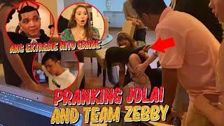 Download song ITS A PRANK! TEAM JOLAI AND TEAM ZEBBY (KINABAHAN SILA!) | ZEINAB HARAKE